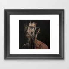 Nothing To Say Framed Art Print