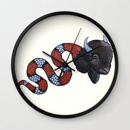 Snuffalo Wall Clock