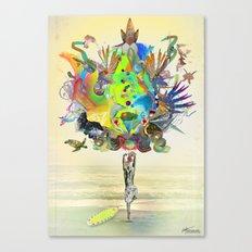 Aurantiaca Canvas Print