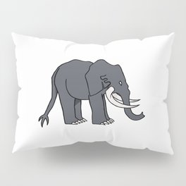 Elephant monster Pillow Sham