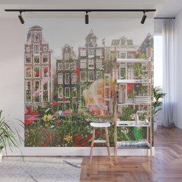 Flowers in Amsterdam Wall Mural