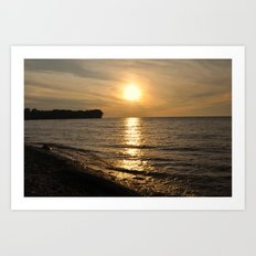 Hanford Bay, New York Art Print