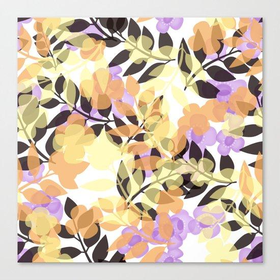 Autumn leaves . Canvas Print