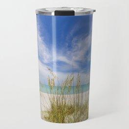Heavenly calmness on the beach Travel Mug
