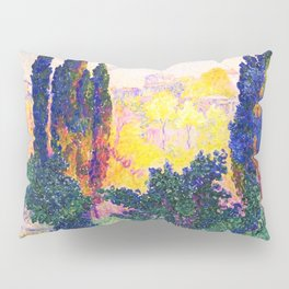 The Cypresses In Cagnes - Digital Remastered Edition Pillow Sham