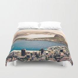 Rio De Janero Duvet Cover