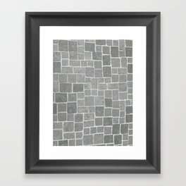 Cobblestones - Art Photography Framed Art Print