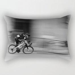 Cyclist Rectangular Pillow