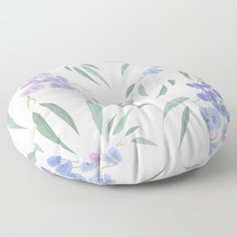 Australian native lilac Floor Pillow
