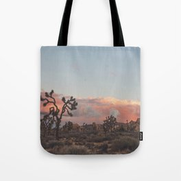 Joshua Tree Sunset No.2 Tote Bag
