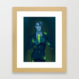 Poison Framed Art Print