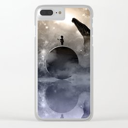 The Little Planet Ocean Clear iPhone Case