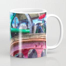 Clayton and Shuttleworth Traction Engine Art Coffee Mug