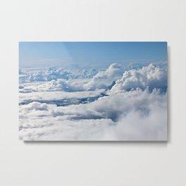 Arctic Clouds Metal Print