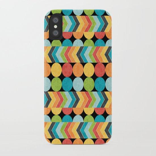 Retro Color Play iPhone Case
