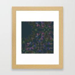 TINY FLORAL Framed Art Print