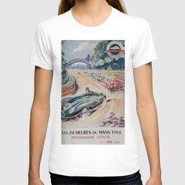 24hs Le Mans, 1954 vintage poster T-shirt