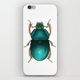 Jewel Scarab iPhone Skin