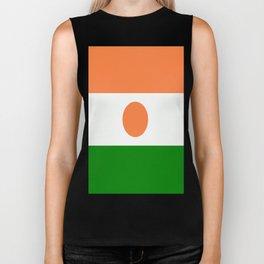 Flag of Niger Biker Tank