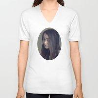 jasmine V-neck T-shirts featuring Jasmine by Carolin Vogt