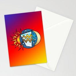 astrology,Aquarius,January Stationery Cards