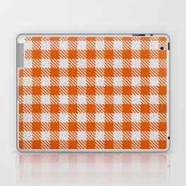 Mystic Red Buffalo Plaid Laptop & iPad Skin