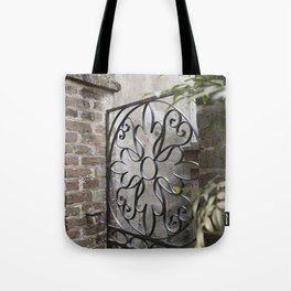 Charleston Back Garden Gate Tote Bag