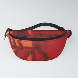 Red Tikis in the Dark  Fanny Pack