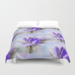 flowers -1- seamless pattern Duvet Cover