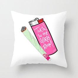 DTD Crue Toke Throw Pillow