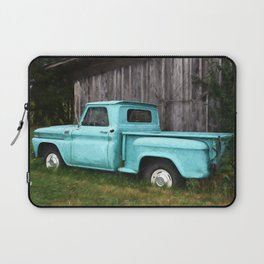 To Be Country - Vintage Truck Art Laptop Sleeve