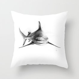 Shark III Throw Pillow
