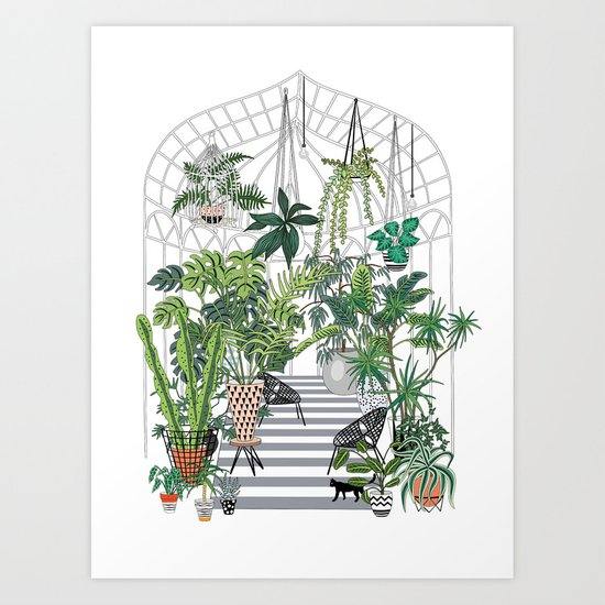 greenhouse illustration by anyuka