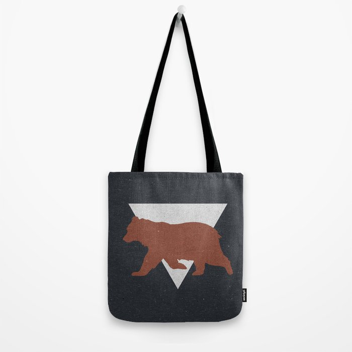 Bear & Bravery Tote Bag