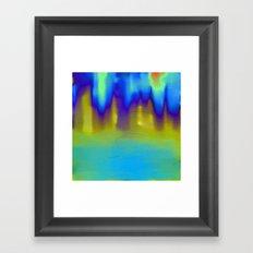 The Mystery Pool Framed Art Print