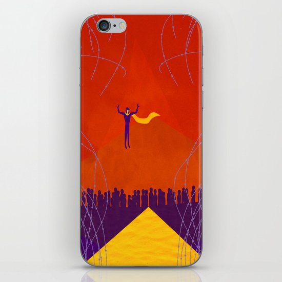 Magneto Was Right  iPhone & iPod Skin
