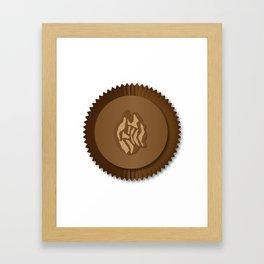 Chocolate Box Wallnut Framed Art Print
