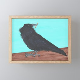 Scavenger Framed Mini Art Print