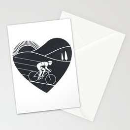 Love Cycling Stationery Cards
