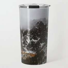 larches on the mountain Travel Mug