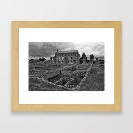 St Marys Priory Framed Art Print