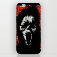 scream iPhone & iPod Skins featuring Scream by brett66