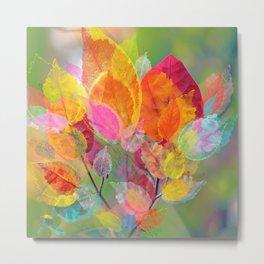 Leaf mosaic(30) Metal Print