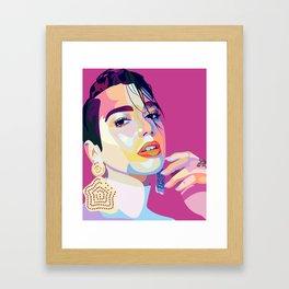 Dua Lipa Framed Art Print