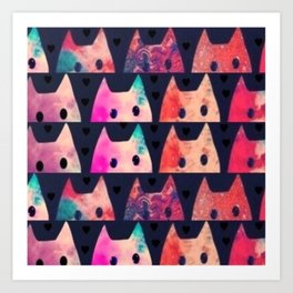 cats 1 Art Print