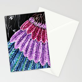 BrightAngel Feathers Stationery Cards