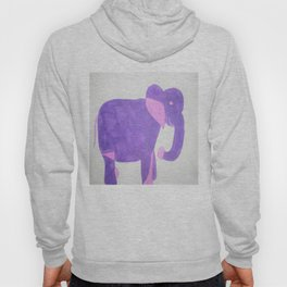 Purple Elephant Hoody