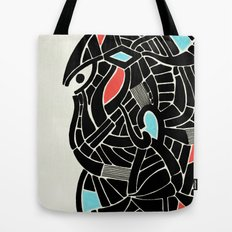 - face for the storm - Tote Bag