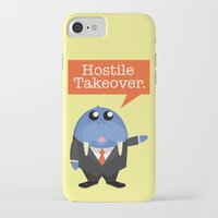 kevin russ iPhone & iPod Cases featuring Wall-Street-Russ by mrfelixding