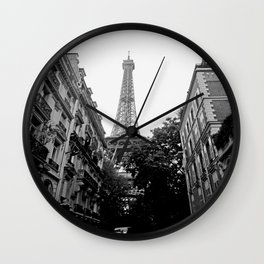 Paris III Wall Clock